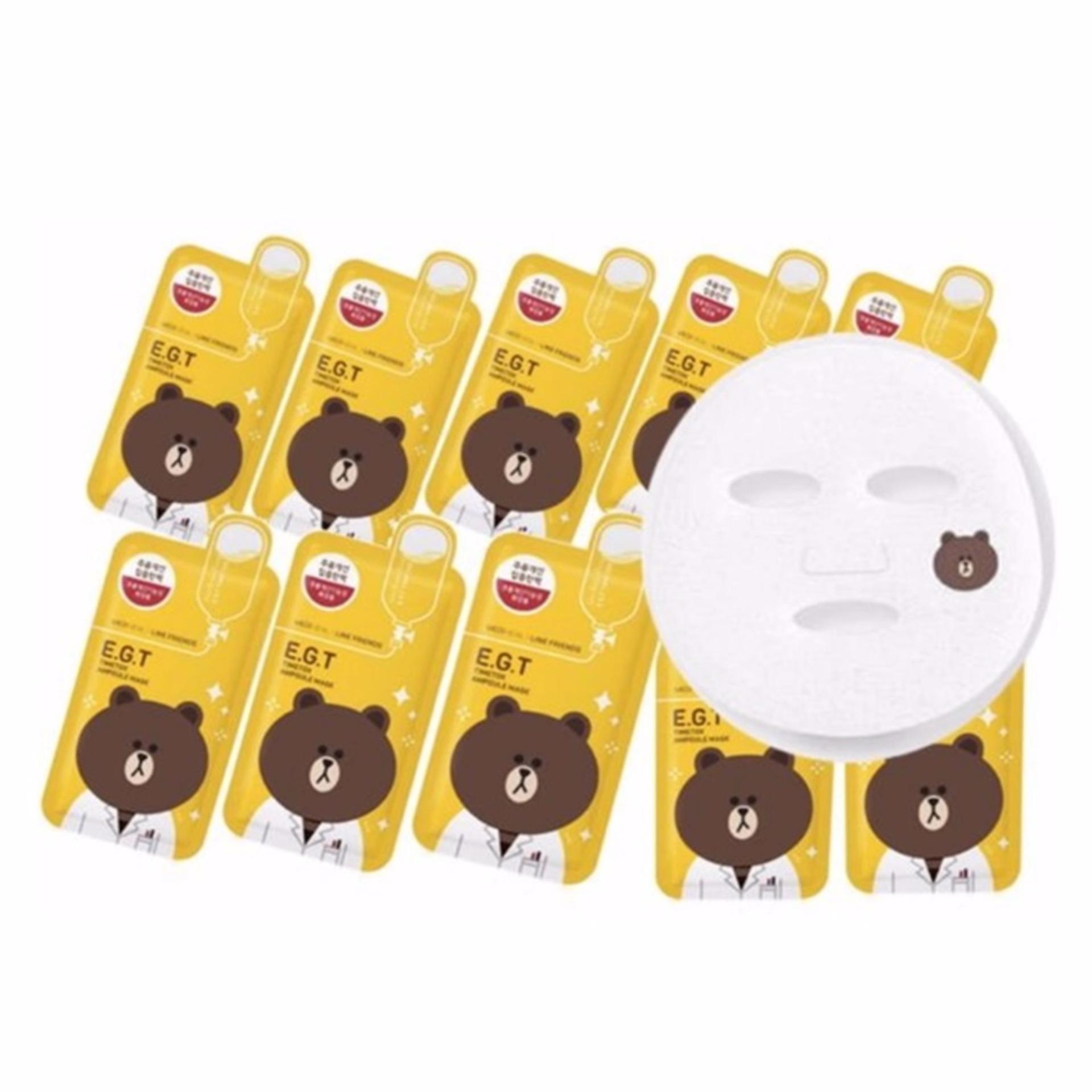 Buy Mediheal Line Friends Egt Timetox Ampoule Mask Pack 25ml10ea Intl Singapore