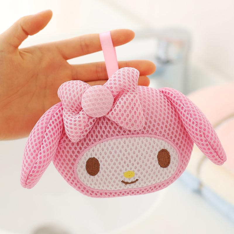 Buy Melody melody head type bath cotton sponge bath ball Singapore