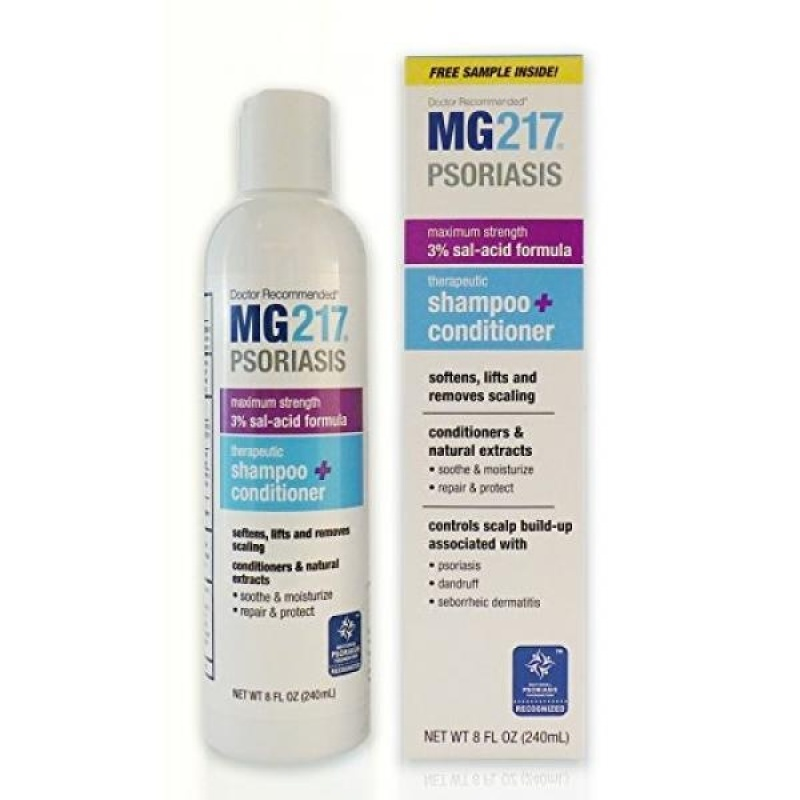 Buy MG217 Therapeutic 3% Salicylic Acid Shampoo and Conditioner, 8 Ounce - intl Singapore