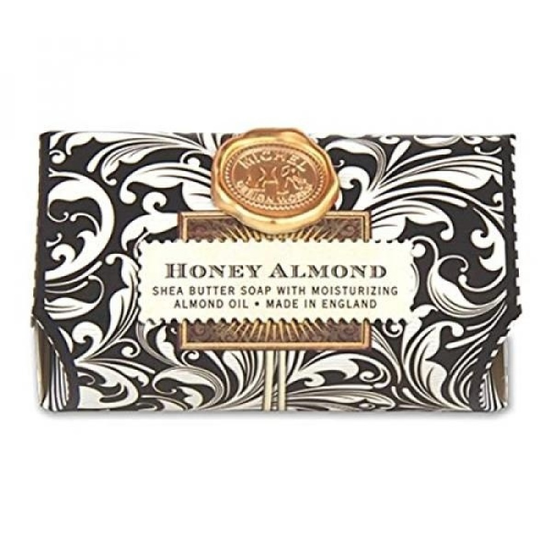 Buy Michel Design Works 9-Ounce Bath Soap Bar, Honey Almond, Large - intl Singapore