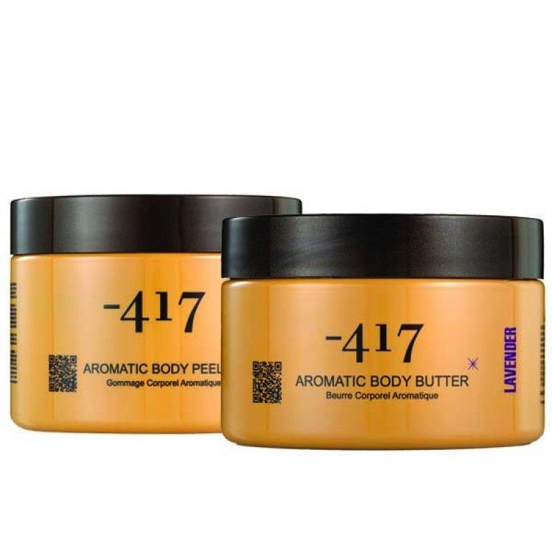 Buy Minus417 Aromatic Body Peeling Lavender 450ml & Minus417 Body Butter (Lavender) 250ml - 1 Set Singapore