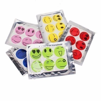 Harga Mosquito Patch - Smiling Face Green