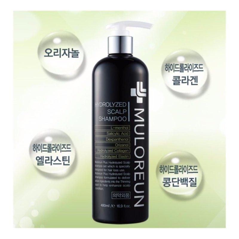 Buy Muloreun Korean Best-Selling 480 + 150 ml Hair Loss Prevention and Helping Hair Growth Hydrolyzed Scalp Shampoo + Tonic Set. - intl Singapore
