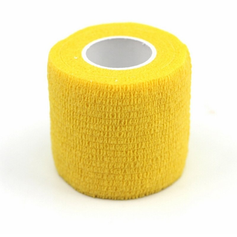 Buy Muscles Care Physio Therapeutic Tape Roll 4.5m * 5cm Yellow - intl Singapore