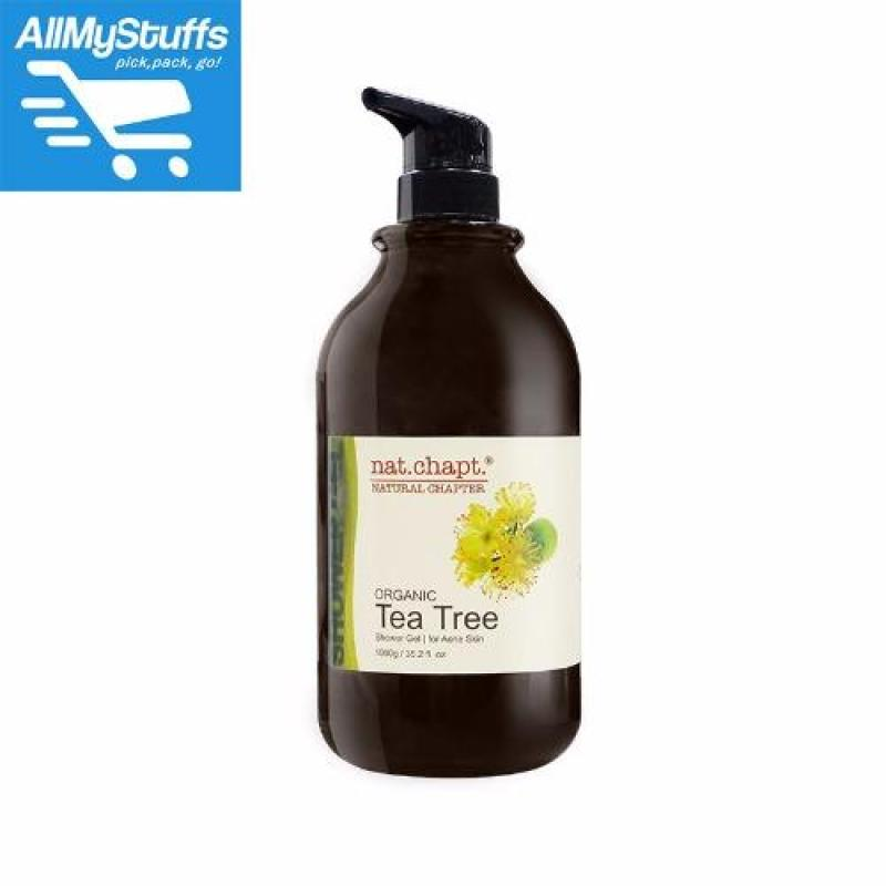 Buy nat.chapt. Organic Tea Tree Shower Gel 1000g Singapore