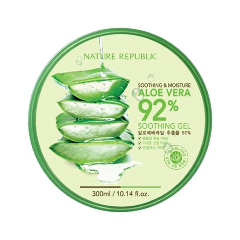 Buy Nature Republic Aloe Vera 92% Soothing Gel 300ml (EXPORT) Singapore