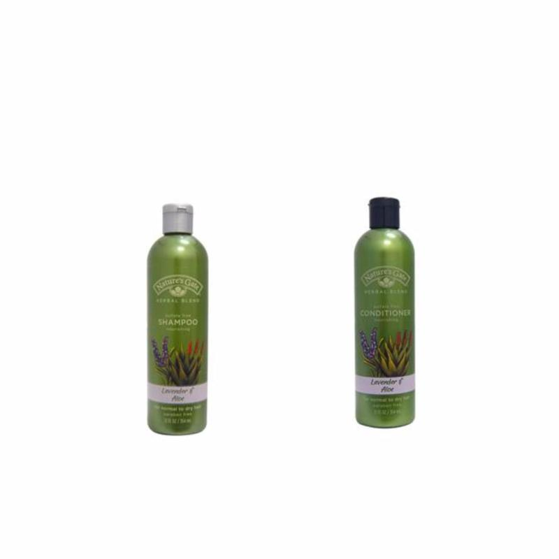 Buy Nature's Gate Lavender + Aloe Shampoo and Conditioner 354ml Singapore
