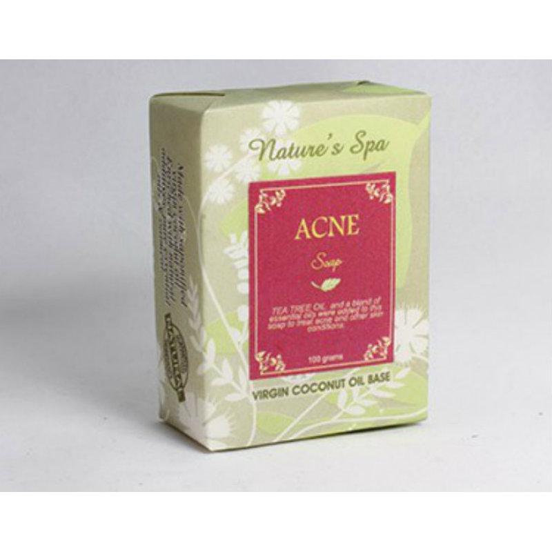Buy Nature's Spa Acne Natural Bar Soap 100g Singapore