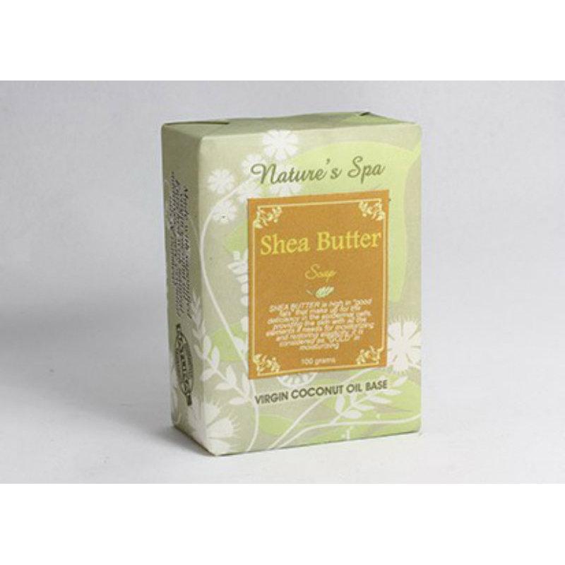 Buy Nature's Spa Shea Butter Natural Bar Soap 100g Singapore