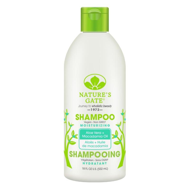Buy Natures Gate Aloe Vera + Macadamia Oil Moisturizing Shampoo 532ml Singapore