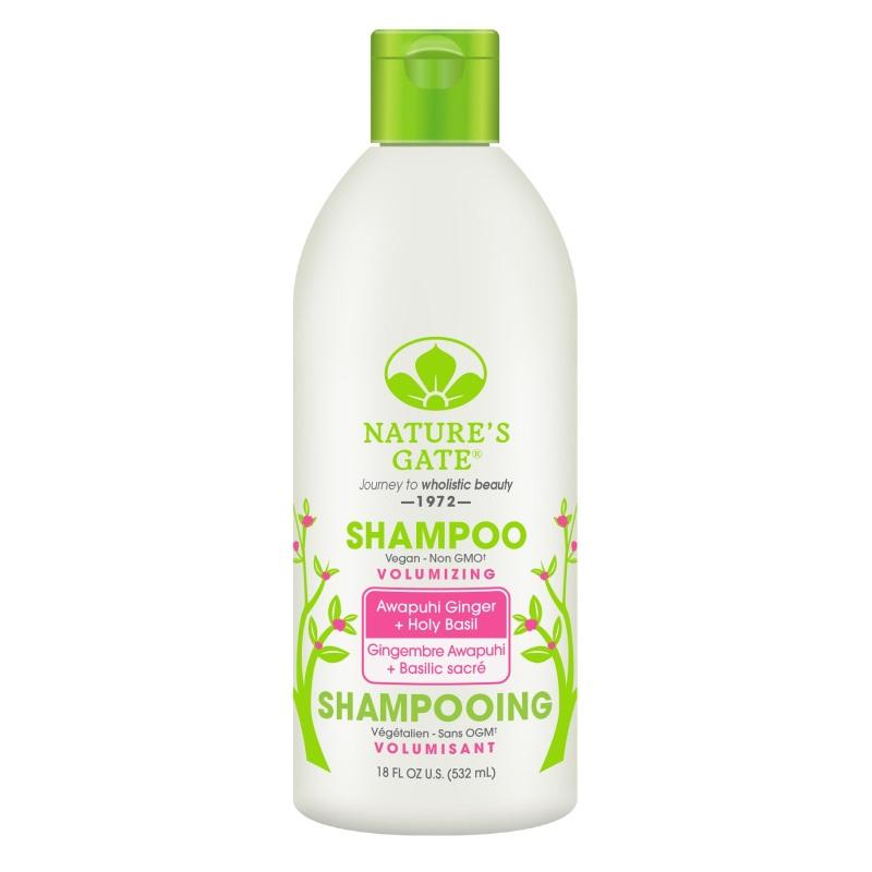 Buy Natures Gate Awapuhi Ginger + Holy Basil Volumizing Shampoo 532ml Singapore