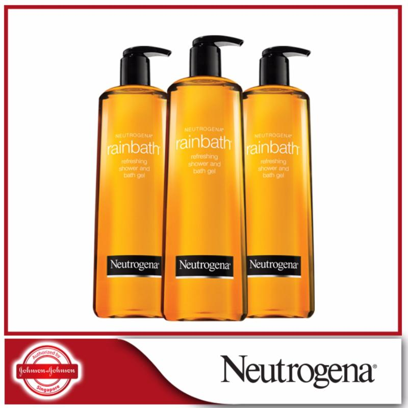 Buy Neutrogena Rainbath Refreshing Shower and Bath Gel 473ml x 3pcs Singapore