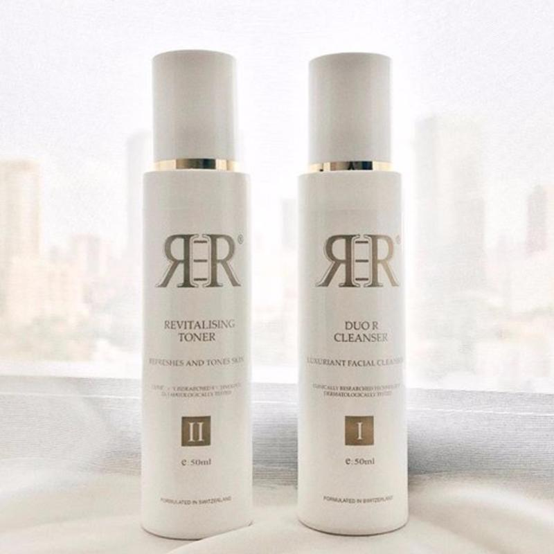 Buy New  Apple Stem Cells Facial R3R Duo R Cleanser and Antiaging Cell Revitalising Toner Set Singapore