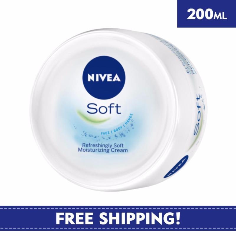 Buy Nivea Body Care Unisex Cream Soft 200ml Singapore