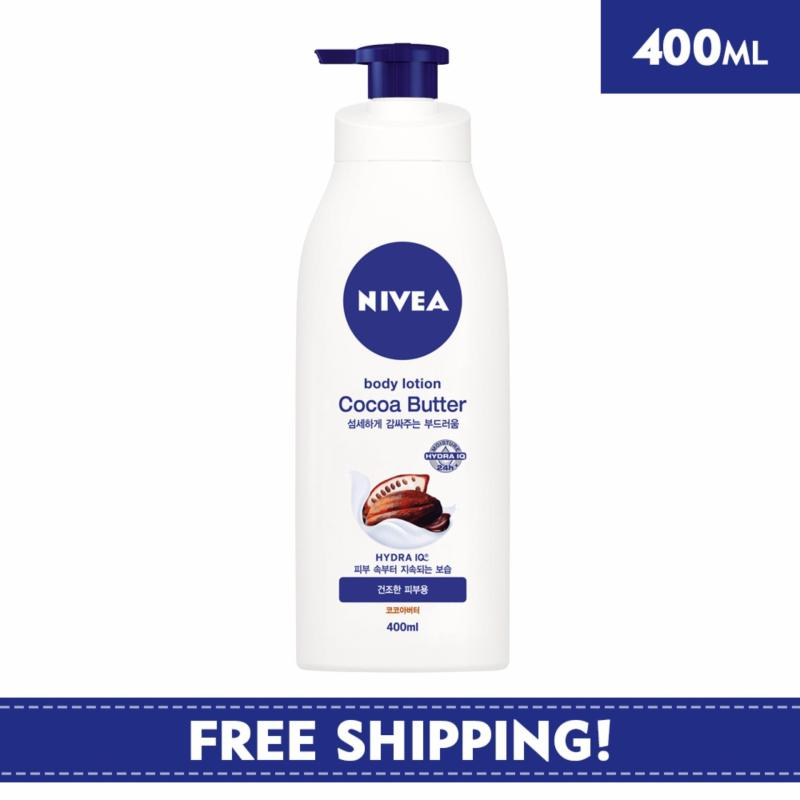 Buy Nivea Body Unisex Lotion Cocoa Butter Body Lotion 400ml - Online Exclusive Singapore