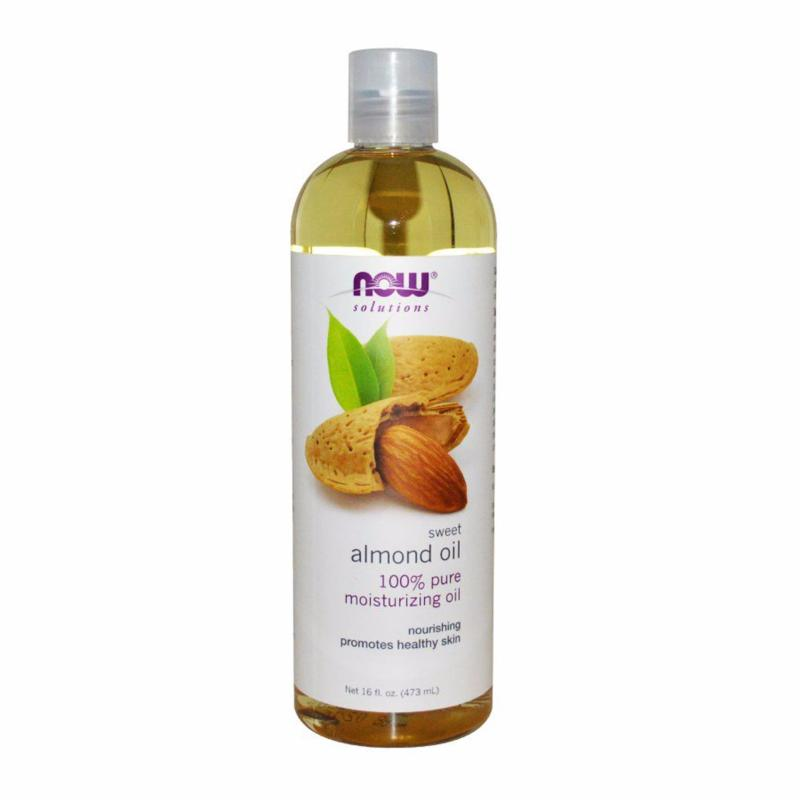 Buy Now Foods Sweet Almond Oil (100% Pure) 16Oz (473ml) Singapore
