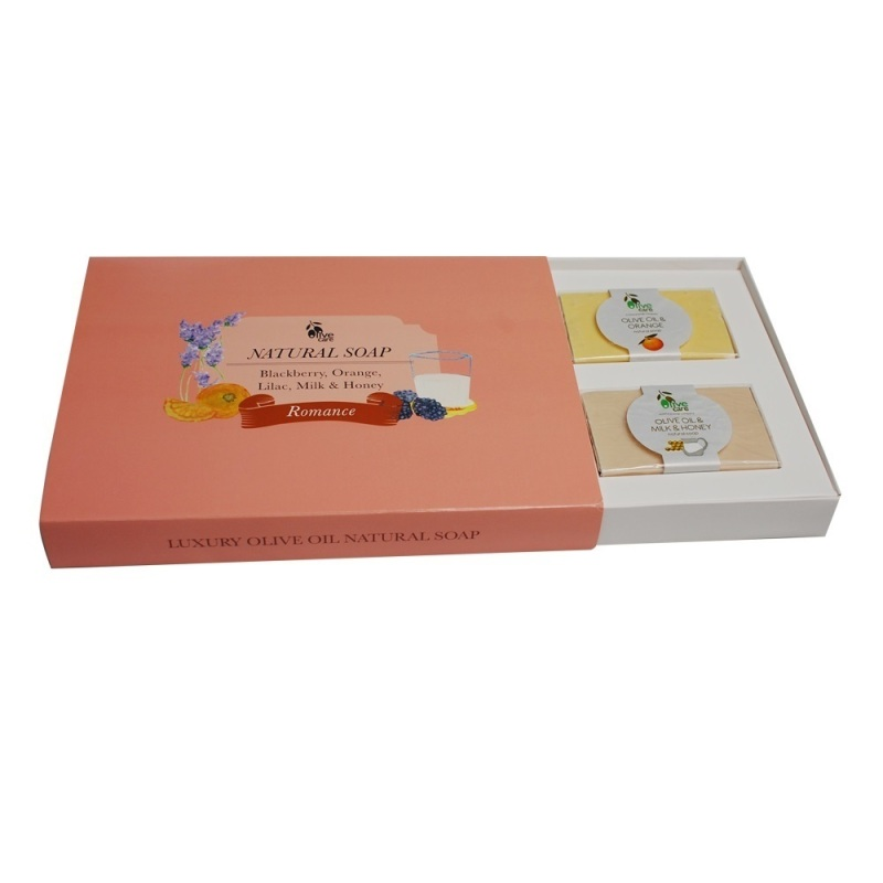 Buy Olivecare Olive Oil Natural Soap Romance Gift Set Singapore