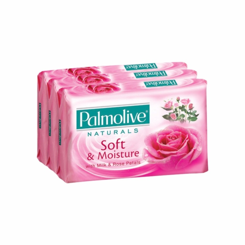 Buy Palmolive Bar Soap Soft & Moisture B2F1 80g Singapore