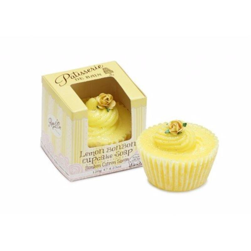 Buy Patisserie de Bain Lemon Bon Bon Cupcake Soap Singapore