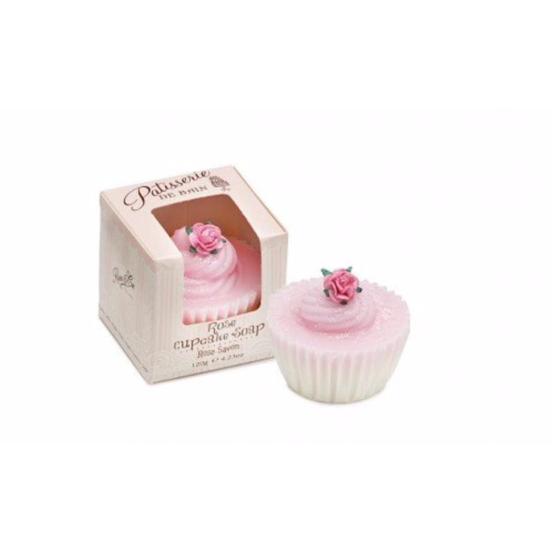 Buy Patisserie de Bain Rose Cupcake Soap (1 Pc) Singapore