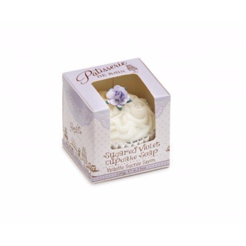 Buy Patisserie de Bain Sugared Violet Cupcake Soap Singapore