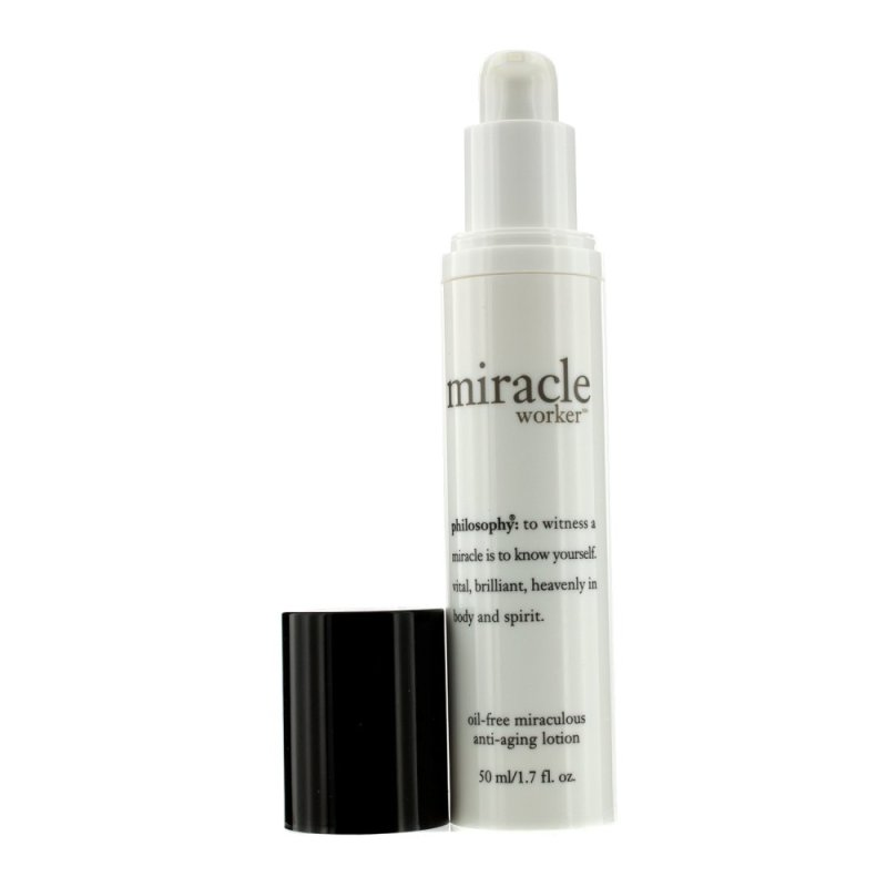 Buy Philosophy Miracle Worker Oil-Free Miraculous Anti-Aging Lotion 50ml - intl Singapore