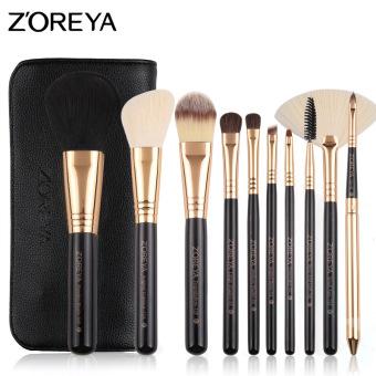 Portable beginner makeup beauty tool brush makeup brush bag - 2