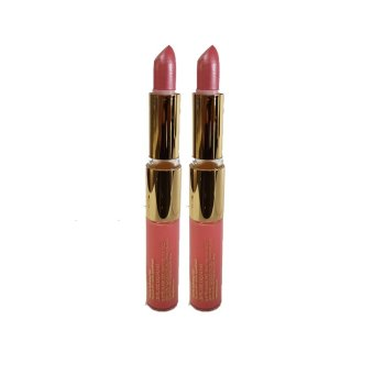 Harga PURE COLOR GLOSS 4.5ML #26 & PURE COLOR LONG LAST LIPSTICK #16X2PCS