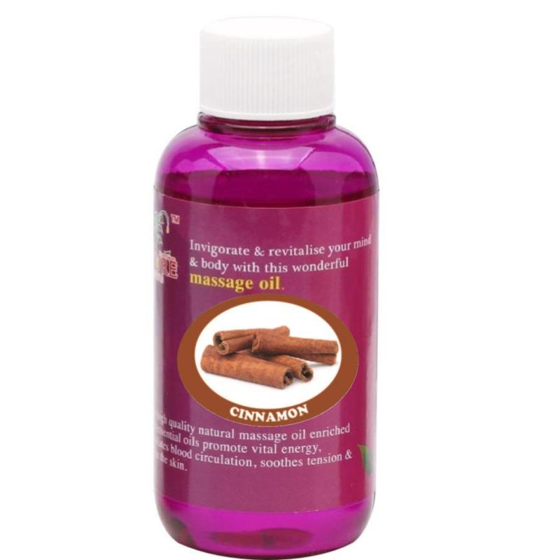 Buy Pure™ Massage Oil 120ml (Cinnamon) Singapore