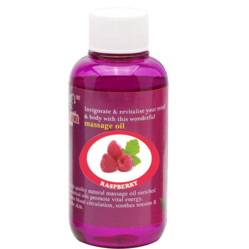 Buy Pure™ Massage Oil 120ml (Raspberry) Singapore
