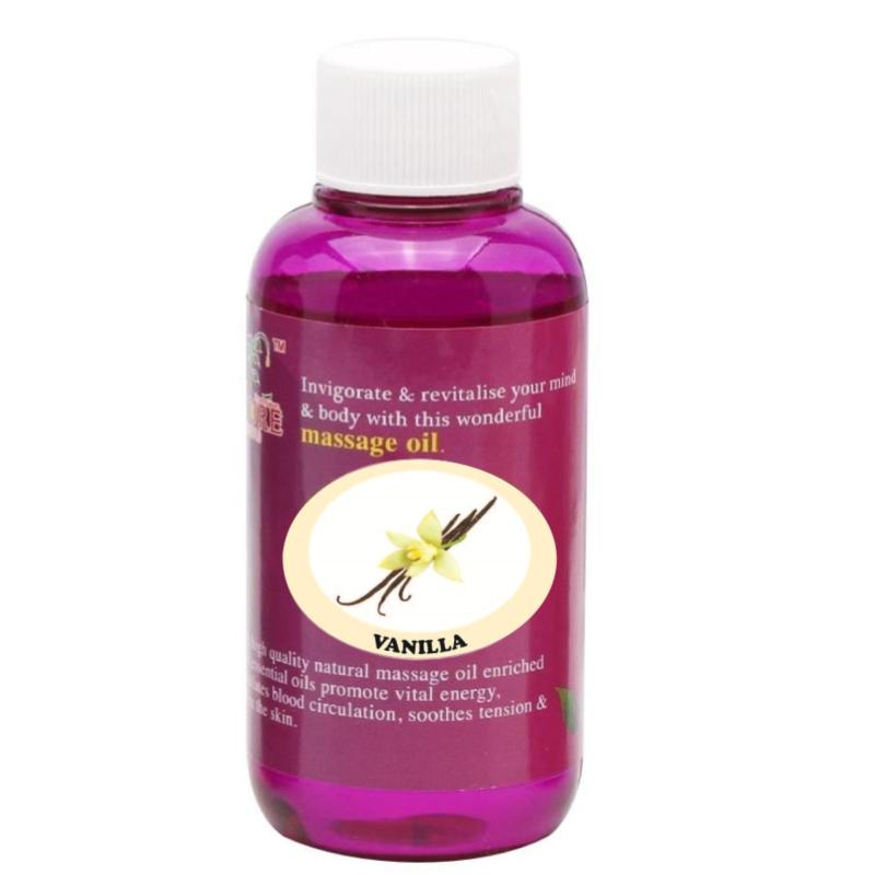 Buy Pure™ Massage Oil 120ml (Vanilla) Singapore