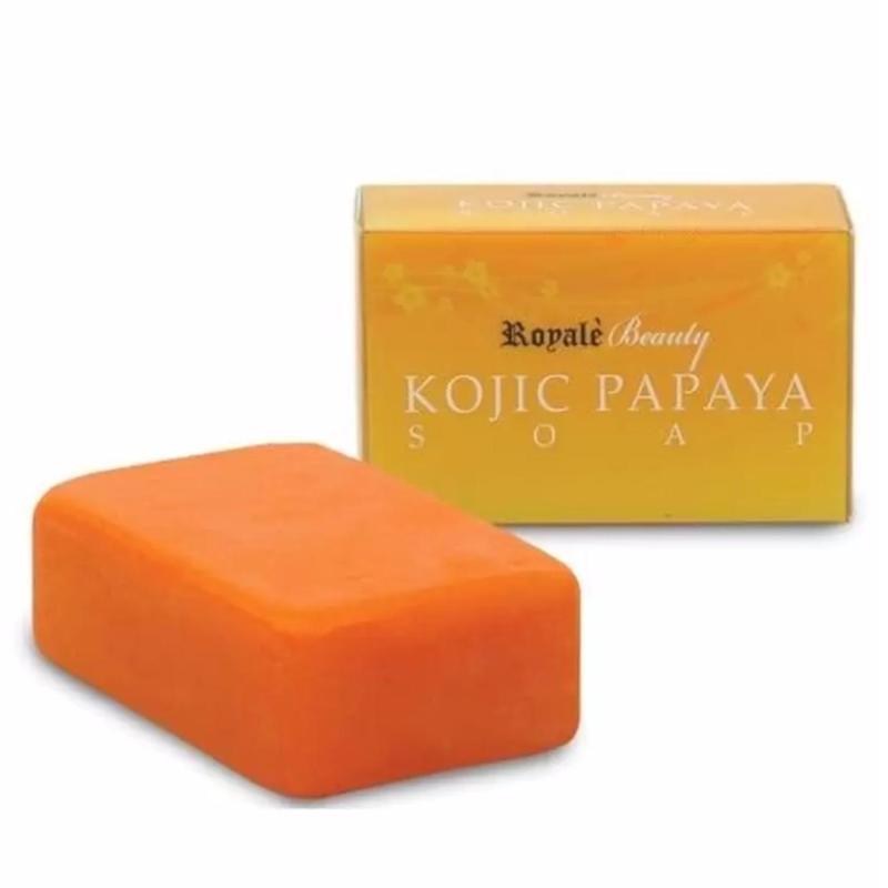 Buy Royale Beauty Kojic Papaya Soap (Anti-Pimples Soap) 130g Singapore