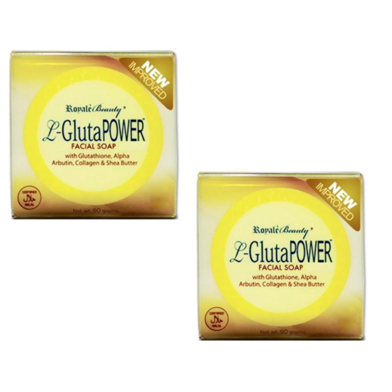 Buy Royale L-Gluta Power Anti-ageing Facial Soap - New Improved (Twin Pack) Singapore