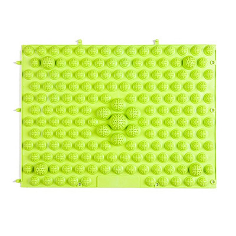 Buy Running Man Shoots TPE foot reflexology cushion large toe plate Acupressure (Green) Singapore