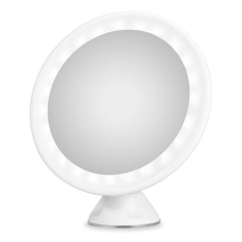Harga S&L 7X Magnification LED Rechargeable Bathroom Vanity Mirror -intl