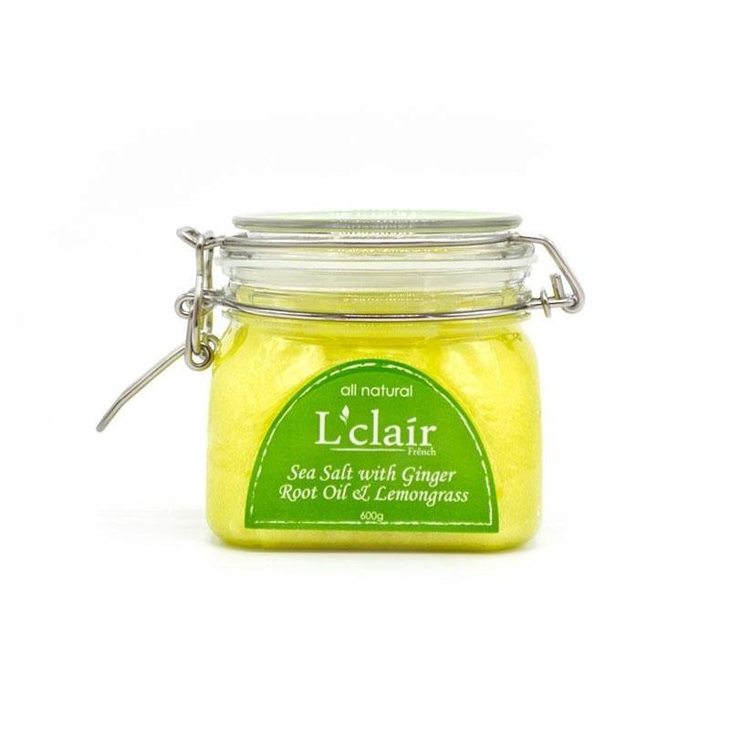 Buy Sea Salt with Ginger Root Oil & Lemon Grass 150g Singapore
