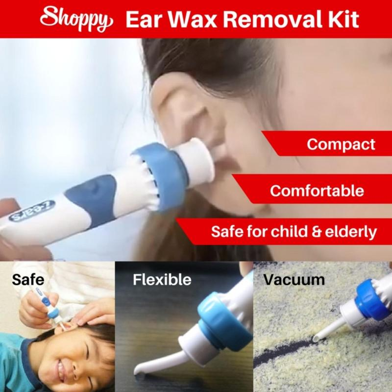 Buy [SG Ready Stock] Shoppy Ear Wax Removal Cleaning Kit Singapore