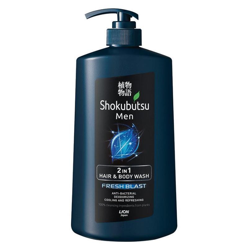 Buy Shokubutsu Men 2-In-1 Hair & Body Wash 850Ml (Fresh Blast) Singapore