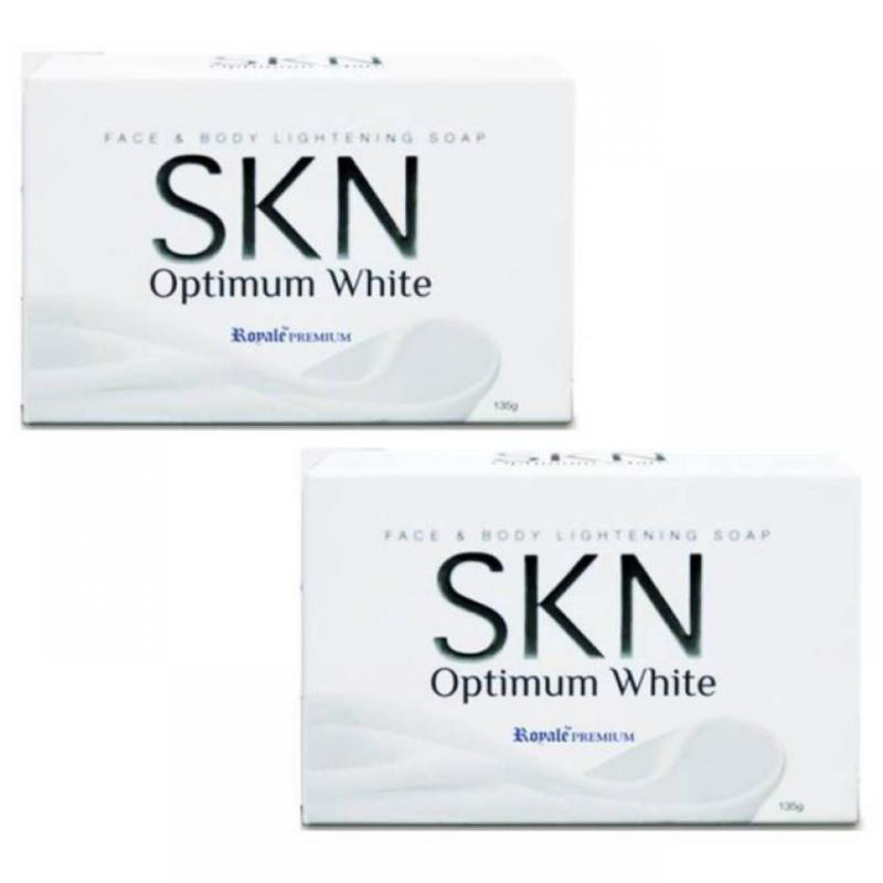 Buy SKN Optimum White Face & Body Soap. Visible results in 7 days! (Value Pack 2 Pcs) Singapore