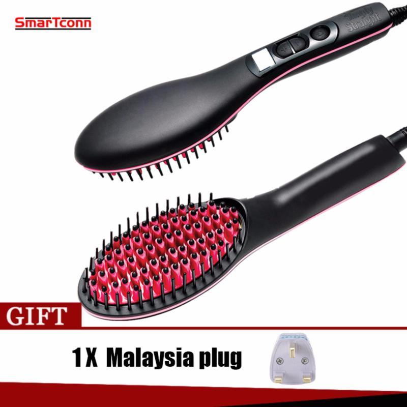 Buy Straightening Brush Hair Simply Straight Ceramic Straightening Brush Hair Straightener Hair Care Hair Care Massage Comb - intl Singapore