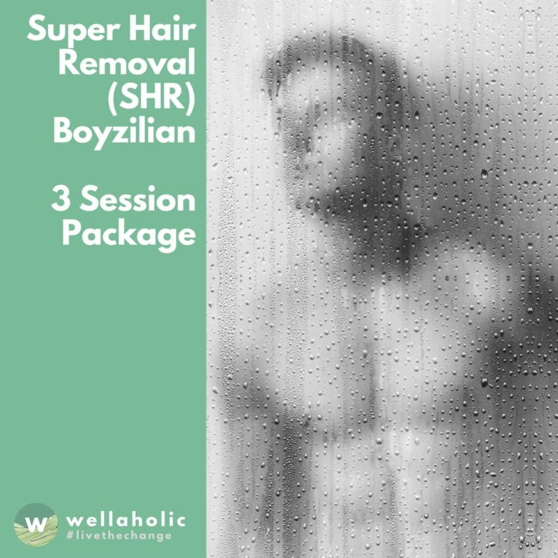 Buy Super Hair Removal (Boyzilian) - 3 Session Package Singapore