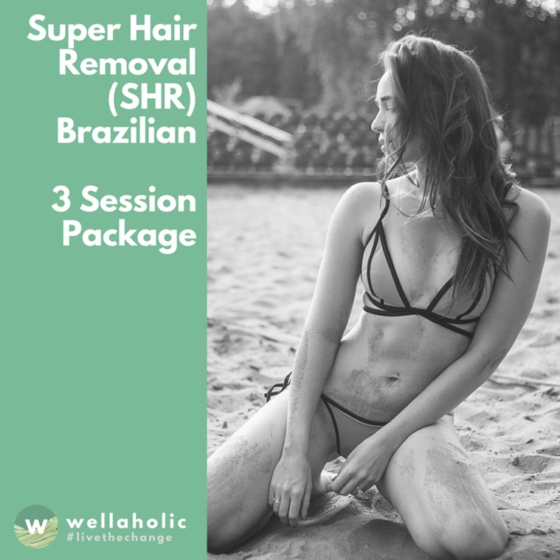 Buy Super Hair Removal (Brazilian) - 3 Session Package Singapore
