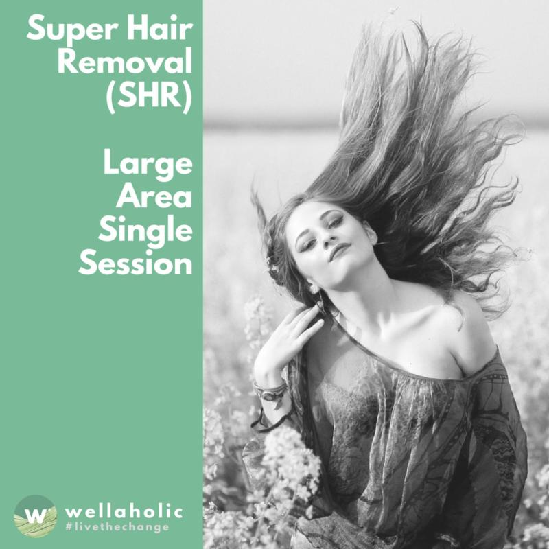 Buy Super Hair Removal (Large Area) - Single Session Singapore