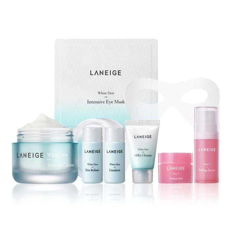 Buy [SUPER SAVER] LANEIGE White Dew Tone Up Cream 50ml Set OR2017 Singapore