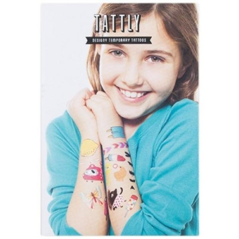 Buy Tattly Temporary Tattoos Kids Mix Two, 1 Ounce - intl Singapore