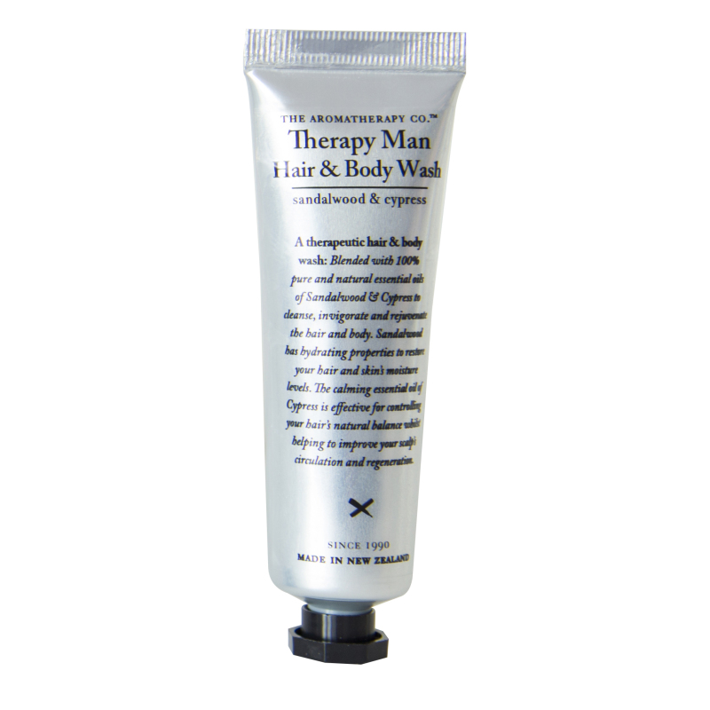 Buy The Aromatherapy Co. Therapy Man Hair & Body Wash 30ml Singapore