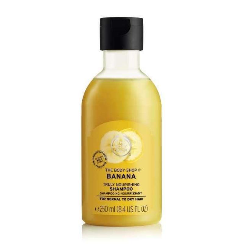 Buy The Body Shop Banana Truly Nourishing Shampoo (250ML) Singapore