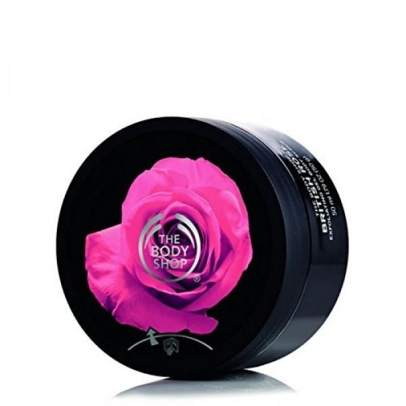 Buy The Body Shop British Rose Exfoliating Gel Body Scrub, 8.9 oz. - intl Singapore