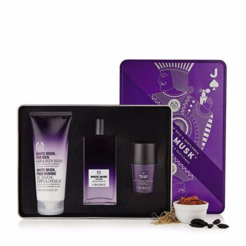 Buy The Body Shop Kings and Gentlemen's White Musk® Fragrance Kit Singapore