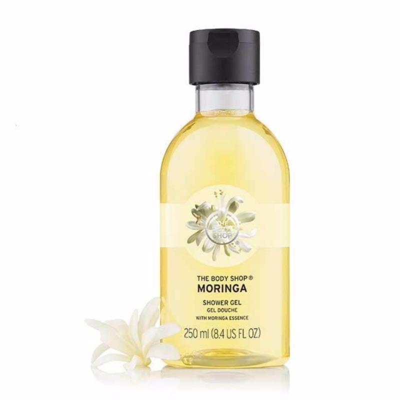 Buy The Body Shop Moringa Shower Gel (250ML) Singapore